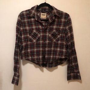 TNA Cropped Flannel
